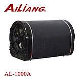Автомобільна бездротова колонка Ailiang AL-1000A, портативна акустика, сабвуфер з підсилювачем, фото 3