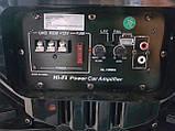 Автомобильная беспроводная колонка Ailiang AL-1000A, портативная акустика, сабвуфер с усилителем, фото 8