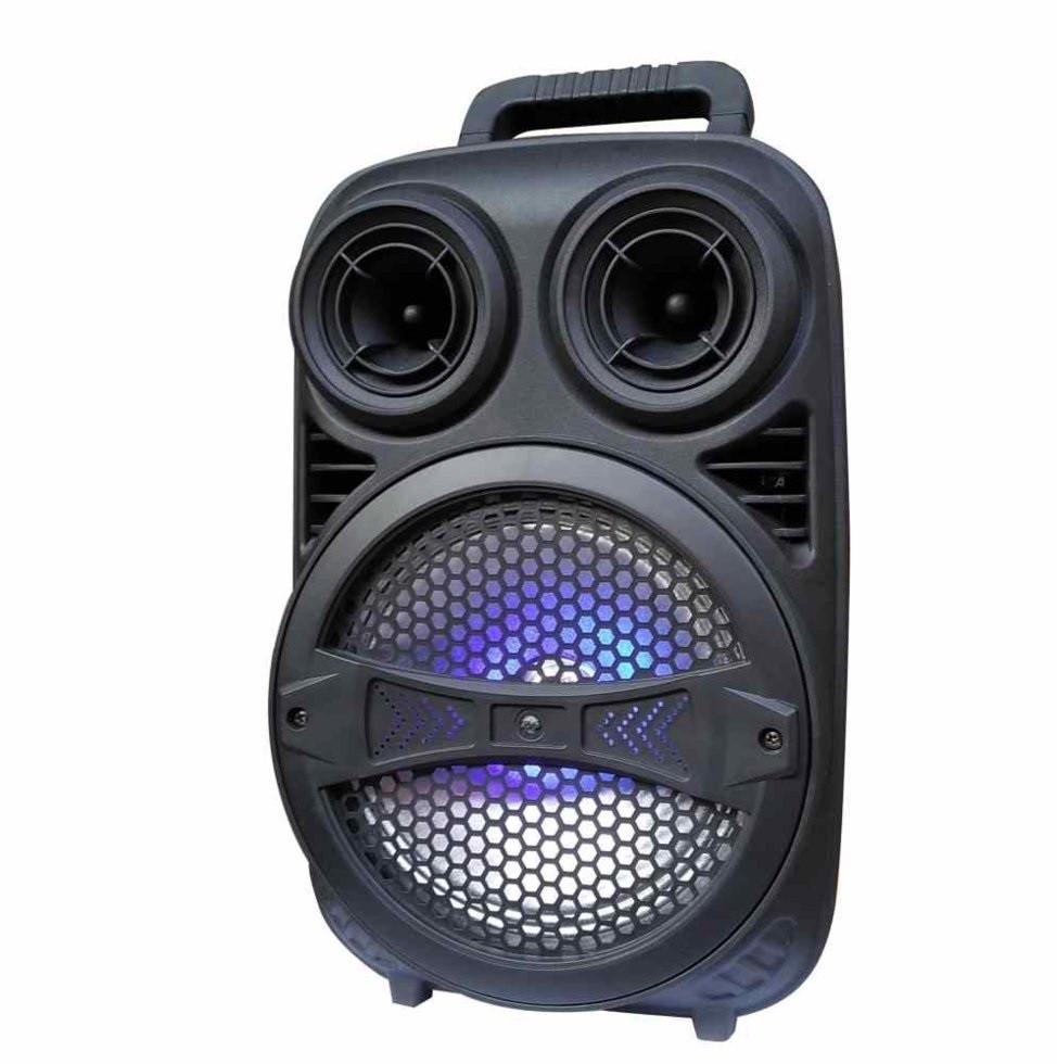 Беспроводная аккумуляторная колонка чемодан Ailiang LiGE-F7, портативная Bluetooth акустика с усилителем