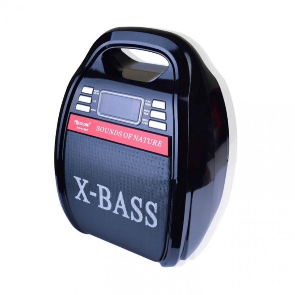 Беспроводная колонка Bluetooth Golon RX-810BT, портативная колонка с микрофонным выходом, USB и карта памяти