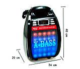 Беспроводная колонка Bluetooth Golon RX-810BT, портативная колонка с микрофонным выходом, USB и карта памяти, фото 6