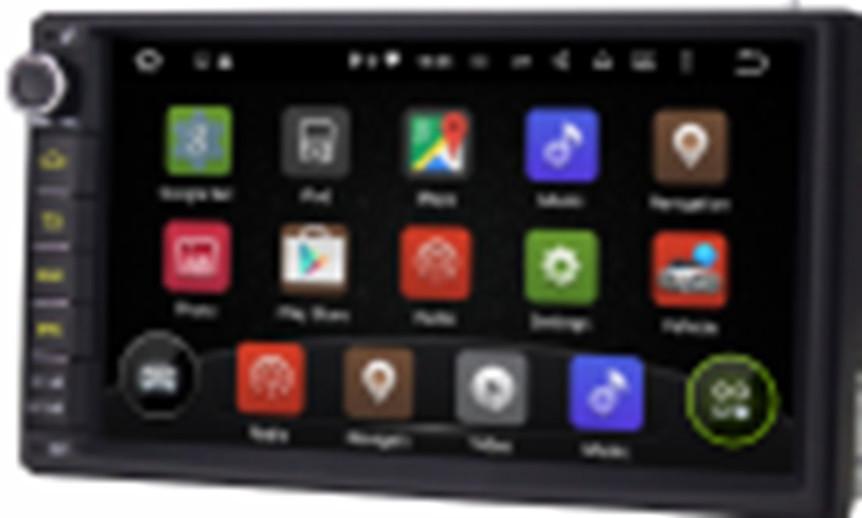 Автомагнітола 2DIN MP5 7003-2U на Андроїд, сенсорний екран, AUX, Bluetooth, USB, Магнітола 2 дін з мультимедіа
