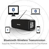 Бездротова колонка Bluetooth T9 Hopestar, недорога портативна колонка з мікрофоном, USB, карта пам'яті, фото 3
