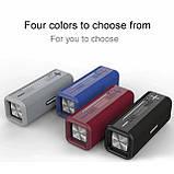 Бездротова колонка Bluetooth T9 Hopestar, недорога портативна колонка з мікрофоном, USB, карта пам'яті, фото 4