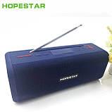 Бездротова колонка Bluetooth T9 Hopestar, недорога портативна колонка з мікрофоном, USB, карта пам'яті, фото 5
