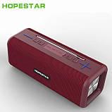 Бездротова колонка Bluetooth T9 Hopestar, недорога портативна колонка з мікрофоном, USB, карта пам'яті, фото 6