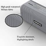 Бездротова колонка Bluetooth T9 Hopestar, недорога портативна колонка з мікрофоном, USB, карта пам'яті, фото 7