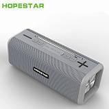 Бездротова колонка Bluetooth T9 Hopestar, недорога портативна колонка з мікрофоном, USB, карта пам'яті, фото 9