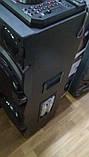Беспроводная колонка чемодан для дискотеки Ailiang DJ-1034 с Диджей Микшером, пультом и 2 микрофонами, фото 2