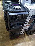 Бездротова колонка валізу для дискотеки Ailiang DJ-1034 з Діджей Мікшером, пультом і 2 мікрофонами, фото 5