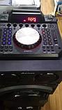 Беспроводная колонка чемодан для дискотеки Ailiang DJ-1034 с Диджей Микшером, пультом и 2 микрофонами, фото 6