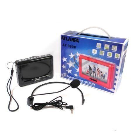 Портативная мультимедийная система Atlanfa at9900  Mp3 MP5, Плеер с экраном, Медиаплеер для фото видео и аудио