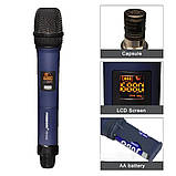 Универсальный вокальный кардиоидный радио микрофон SHUPERD  M 1, Микрофон для вокала для пения сценический, фото 7