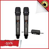 Универсальный вокальный кардиоидный радио микрофон SHUPERD  M 2 микрофон для вокала для пения сценический, фото 3