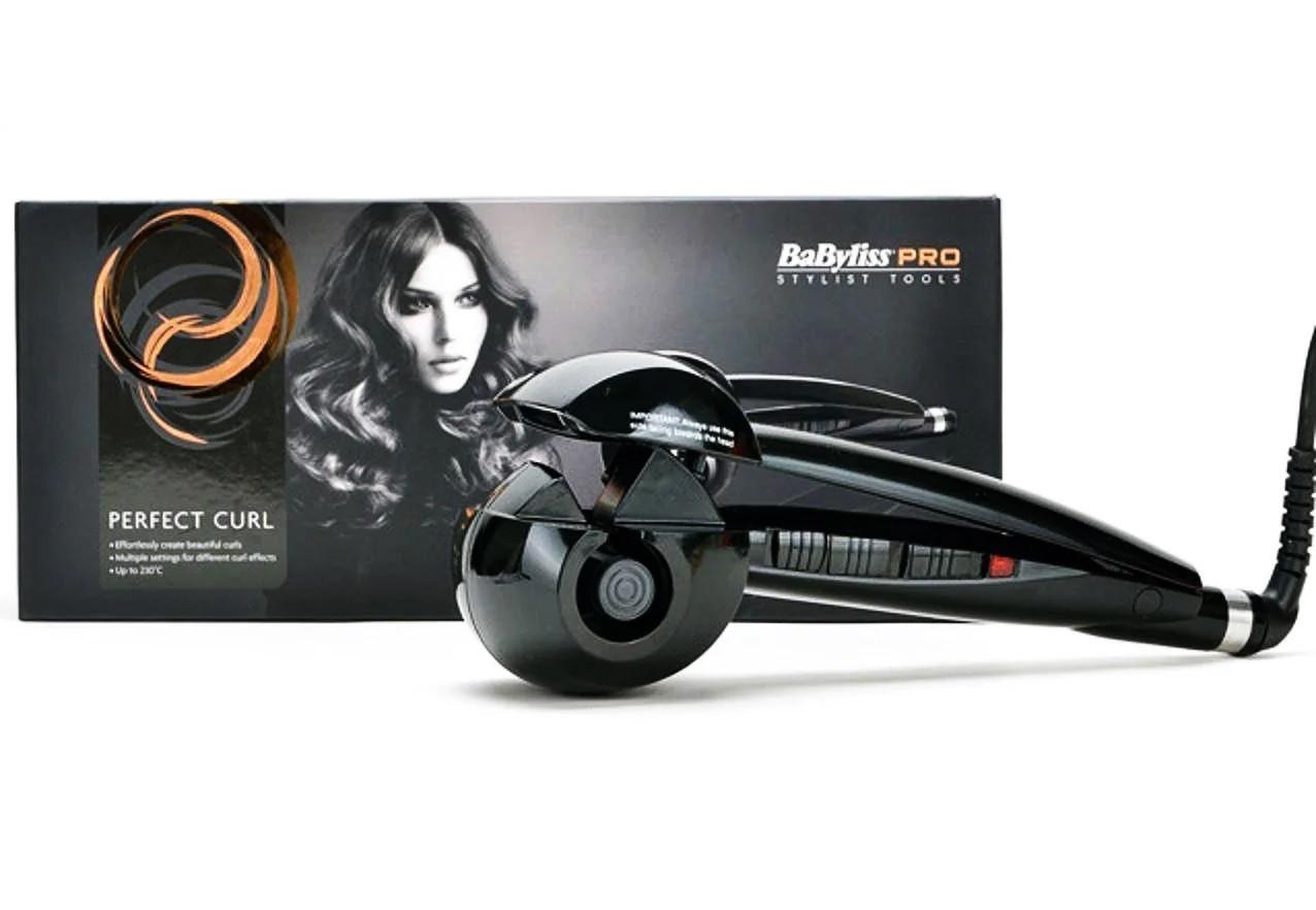Автоматична плойка для професійної укладки волосся BaByliss PRO, стайлер для завивки, великих локонів