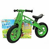 Детский велобег Cross Bike от Kinder Way, двухколесный беговел для активного отдыха ребенка, каталка, фото 3