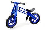 Детский велобег Cross Bike от Kinder Way, двухколесный беговел для активного отдыха ребенка, каталка, фото 5