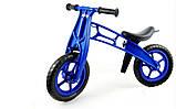 Детский велобег Cross Bike от Kinder Way, двухколесный беговел для активного отдыха ребенка, каталка, фото 7