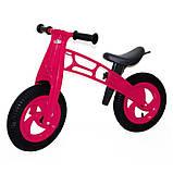 Детский велобег Cross Bike от Kinder Way, двухколесный беговел для активного отдыха ребенка, каталка, фото 8