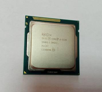Процессор Intel Core i3-3220 3,30 GHz/ 3Mb Кеш/5 GT/s/HD Graphics 2500/ s1155