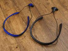 Стереонавушники для спорту Stn-730 навушники-вкладиші Level U Блакитні, спортивна Bluetooth гарнітура Репліка