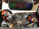 Комплект ігрової провідний для геймерів 4 в 1 Meetion MT-C500 Клавіатура з підсвічуванням, миша, навушники,, фото 4