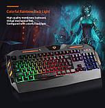 Комплект ігрової провідний для геймерів 4 в 1 Meetion MT-C500 Клавіатура з підсвічуванням, миша, навушники,, фото 10
