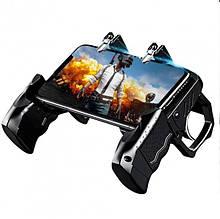 Безпровідний геймпад джойстик Pubg, Геймпад К21 для телефону, Ігровий маніпулятор для смартфонів до 6,5 дюйм
