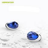 Міні бездротові навушники вкладиші TWS Hopestar E6, Bluetooth Хопстар гарнітура для телефона, смартфона, фото 3