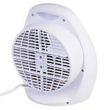 Тепловентилятор бытовой электрический OPERA DIGITAL OP-H0002. Портативный вентилятор или обогреватель. Дуйчик, фото 2