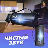 Компактная беспроводная Bluetooth Cigii S11A портативная колонка бумбокс с микрофоном USB и картой памяти, фото 7