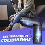 Компактная беспроводная Bluetooth Cigii S11A портативная колонка бумбокс с микрофоном USB и картой памяти, фото 10