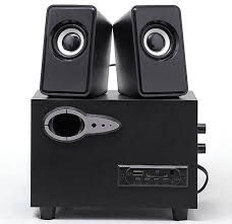 Компьютерная колонка сабвуфер sw-303u с usb. Активная Bluetooth акустическая система с усилителем для пк