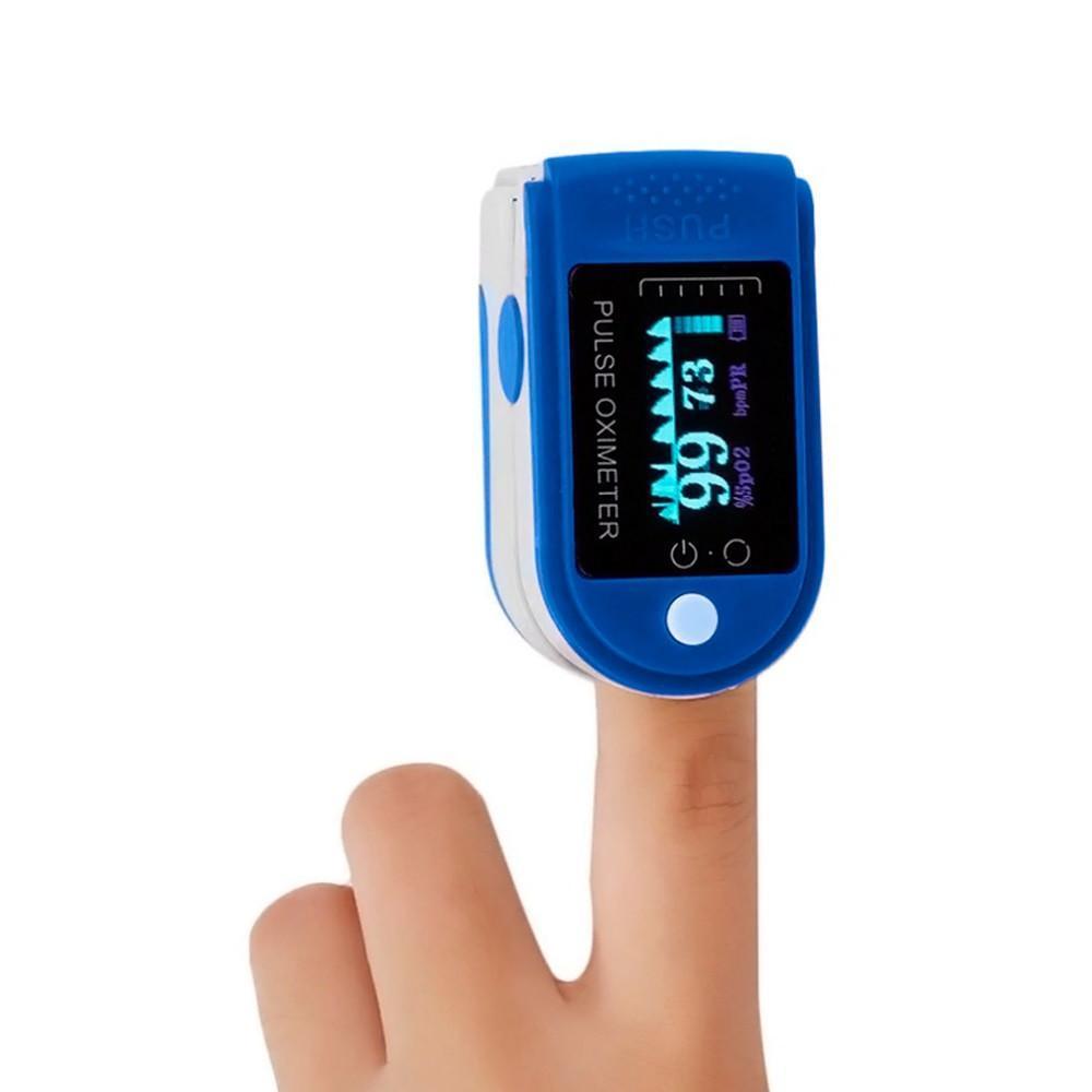 Пульсометр на палець PULSE OXIMETER. Апарат пульсоксиметр. Медтехніка пульсоксиметр медичний для спорту