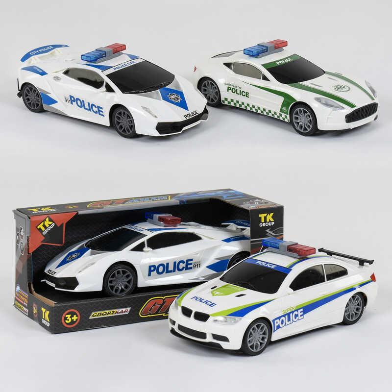 """Машина GT 99091 """"Поліція"""" AutoExpert світло звук інерція"""