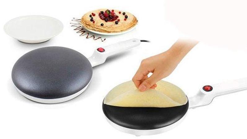 Електрична млинниця заглибна DSP 3016, сковорідка для млинців настільна 20 см, Электроблинница