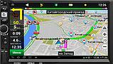 Радіоприймач Fm магнітофон в машину 2 дін 8702, магнітола 2-din андроїд з навігацією і блютуз, фото 2