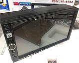 Радіоприймач Fm магнітофон в машину 2 дін 8702, магнітола 2-din андроїд з навігацією і блютуз, фото 4