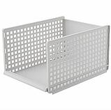 ОПТ Багаторозмірних складаний пластиковий органайзер з ящиками для одягу, багатошаровий стелаж для зберігання, фото 3