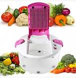 Универсальная кухонная овощерезка Multi Salad Chef 13 в 1, 5 различных вкладышей, фото 3