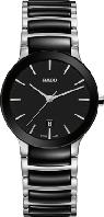 Часы наручные женские RADO CENTRIX 01.079.0935.3.017/R30935172, сталь / керамика / титан