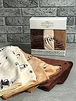 Кухоні рушнички Coffee мікрофібра 35х70 набір