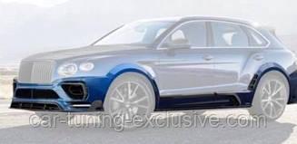 MANSORY Wide body kit for Bentley Bentayga