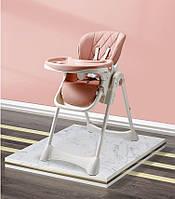 Пластиковый детский столик со стульчиком для кормления малыша
