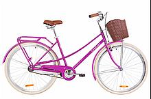 "Велосипед ST 28"" Dorozhnik Comfort Female 2020 Картридж, 19,5-21"", Фиолетовый"