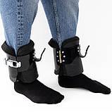 Гравитационные ботинки (инверсионные антигравитационные для турника) тренажер для спины OSPORT Pro (OF-0005), фото 5