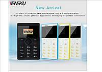 Veneku - ультратонкий мобильный телефон  карточка качественный звук
