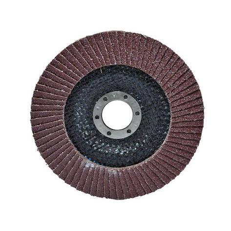 Диск шлифовальный лепестковый 125x22 мм зерно 40 Htools, фото 2
