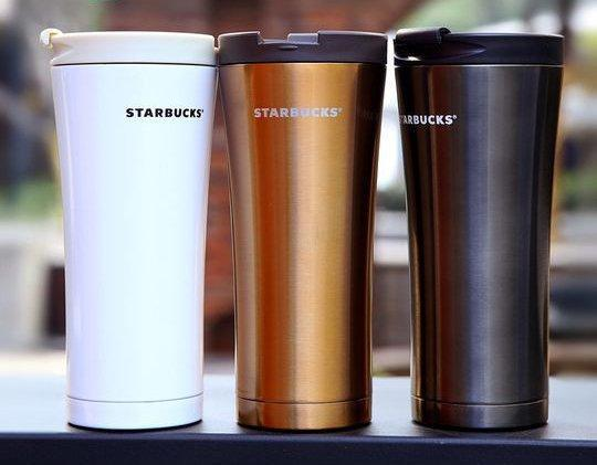 Термокружка с крышкой Starbucks (Реплика)