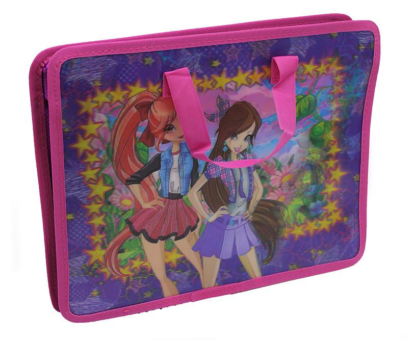 Папка-портфель для труда 3D, Девушки